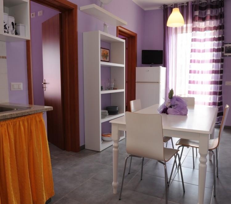 Appartamento Glicine - Zona giorno
